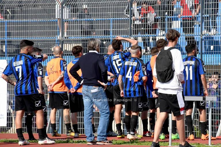 Bisceglie calcio. <span>Foto Marcello Papagni</span>
