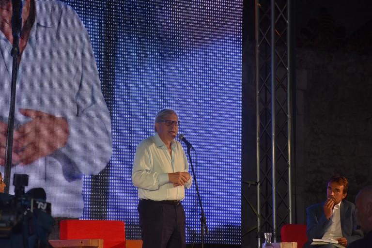 Vittorio Sgarbi a Bisceglie