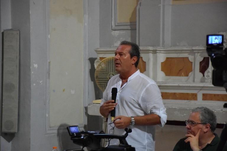 Francesco Spina. <span>Foto Luca Ferrante</span>