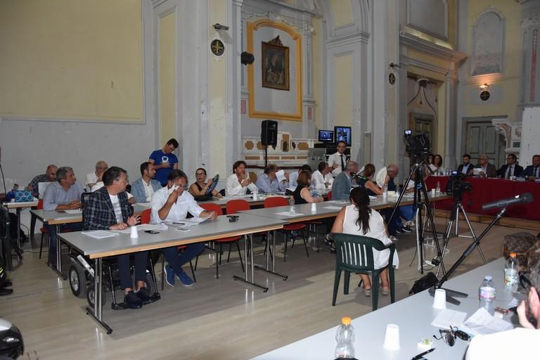 Consiglio comunale. <span>Foto Cristina Scarasciullo</span>