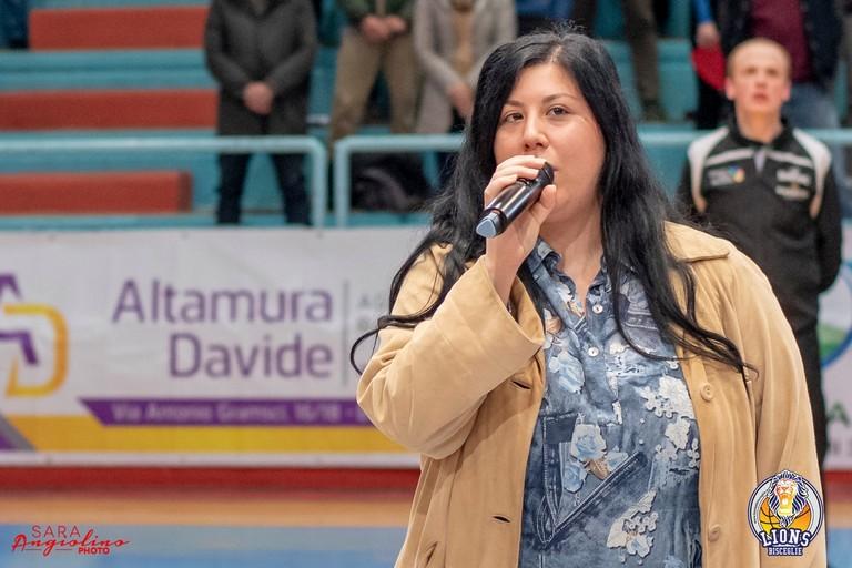 L'attrice e cantante biscegliese Noemi Mazzola. <span>Foto Sara Angiolino</span>