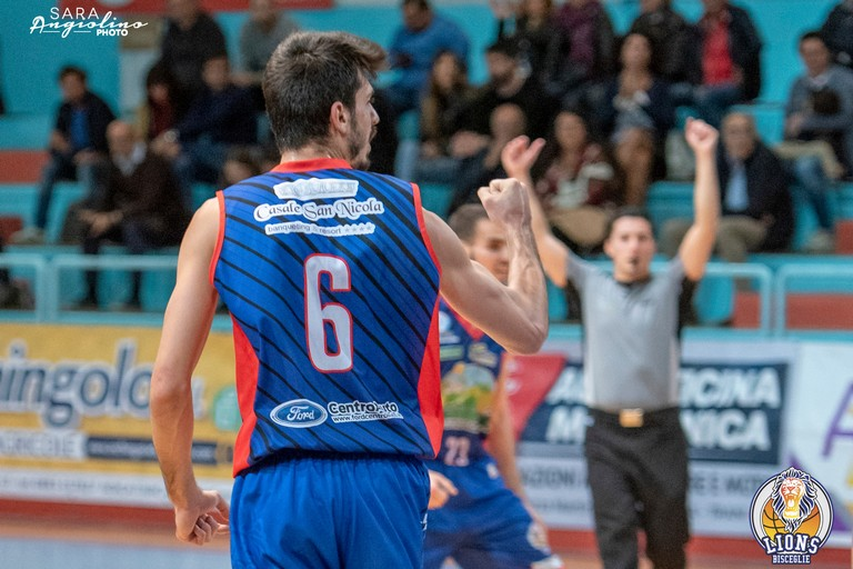 Lions Basket Bisceglie. <span>Foto Sara Angiolino</span>