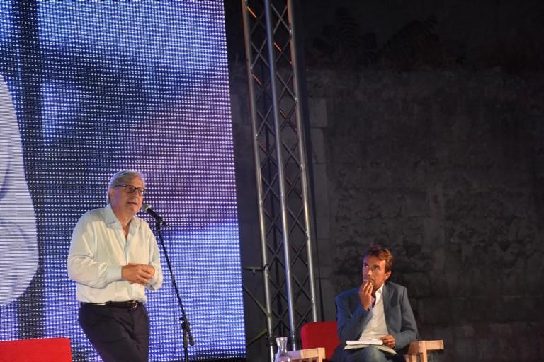 Vittorio Sgarbi a Libro nel Borgo Antico 2018 (Foto Luca Ferrante)