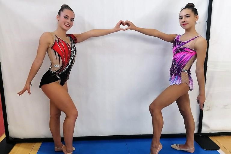 Simona Brunetta e Serena Abbadessa