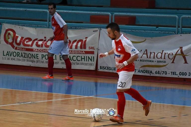 Francesco Acquaviva della Diaz in azione (Foto Marcello Papagni)