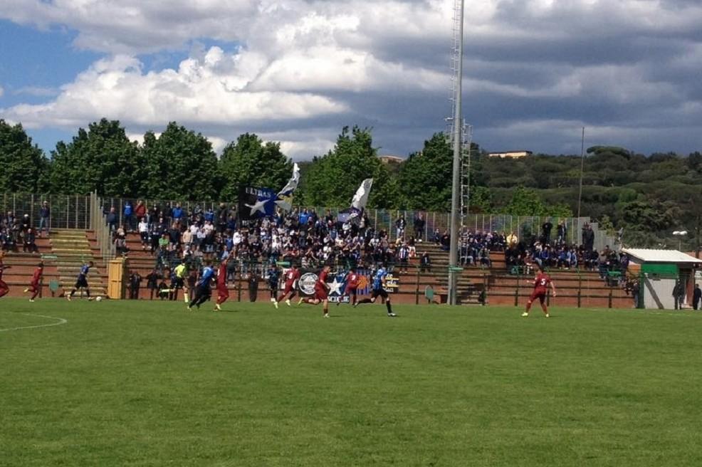 Un momento del match fra Albalonga e Bisceglie (Foto Valerio Caprino)