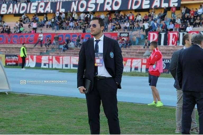 Alessandro Ciani Passeri. <span>Foto Emmanuele Mastrodonato</span>