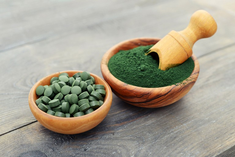 Alga spirulina in compresse