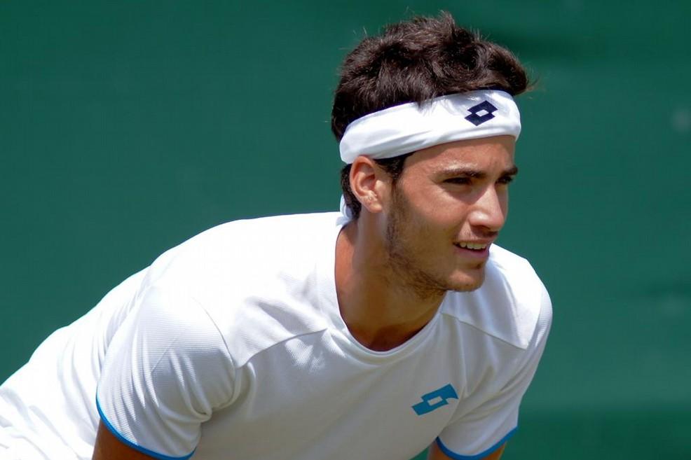 Il tennista biscegliese Andrea Pellegrino