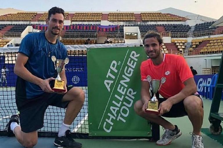 Andrea Pellegrino con Gianluca Mager