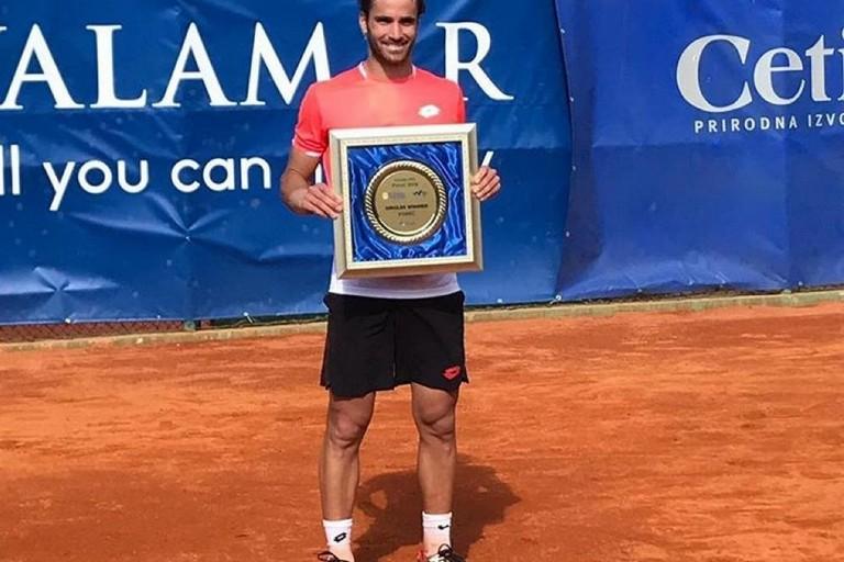 Andrea Pellegrino vince il torneo di Porec in Croazia