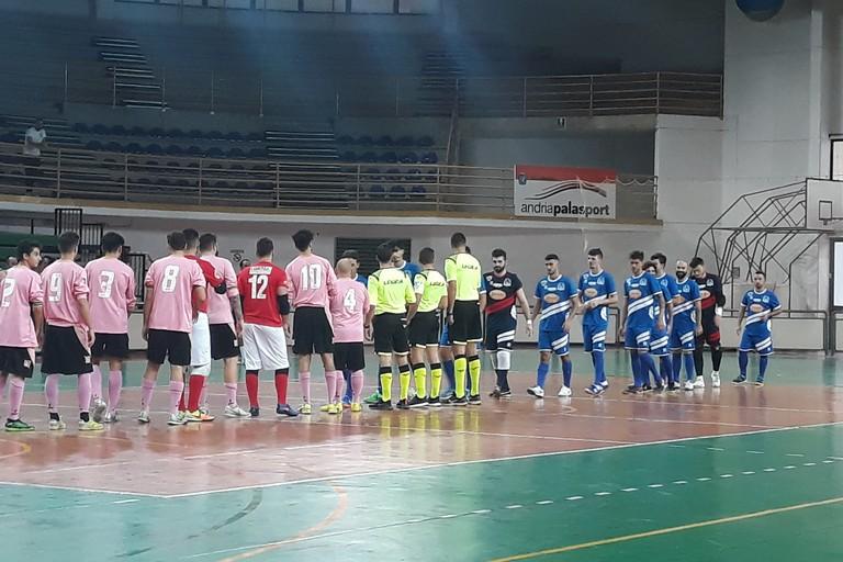 Futsal Andria-Futbol Cinco Bisceglie. <span>Foto Nico Colangelo</span>