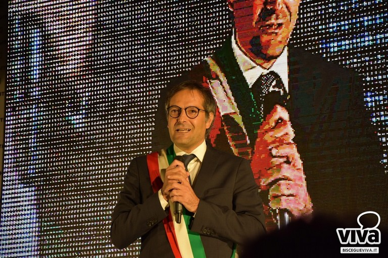 Il sindaco Angelantonio Angarano. <span>Foto Luca Ferrante</span>