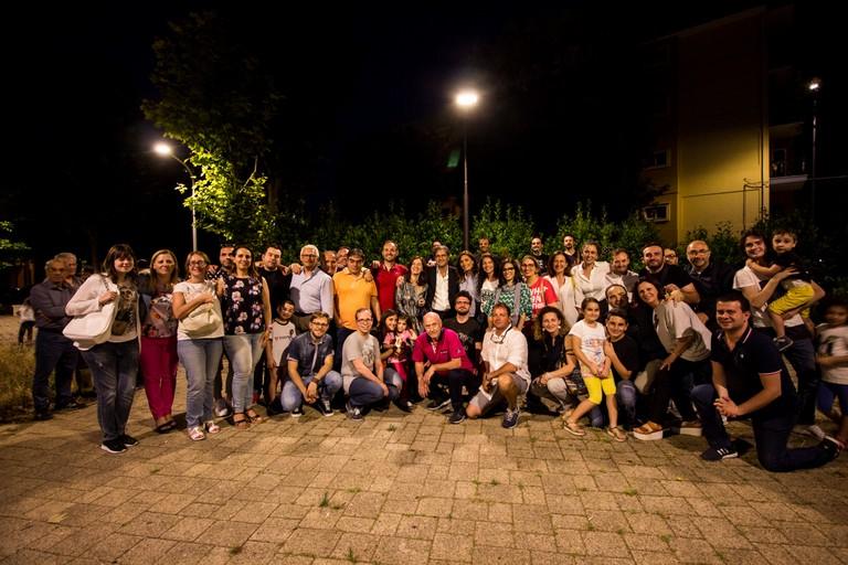 Tour nel quartiere San Pietro per la coalizione