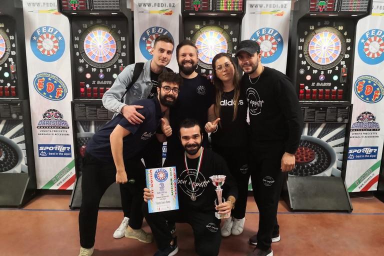 Apulia Golden Dart alle finali di Coppa Italia di freccette