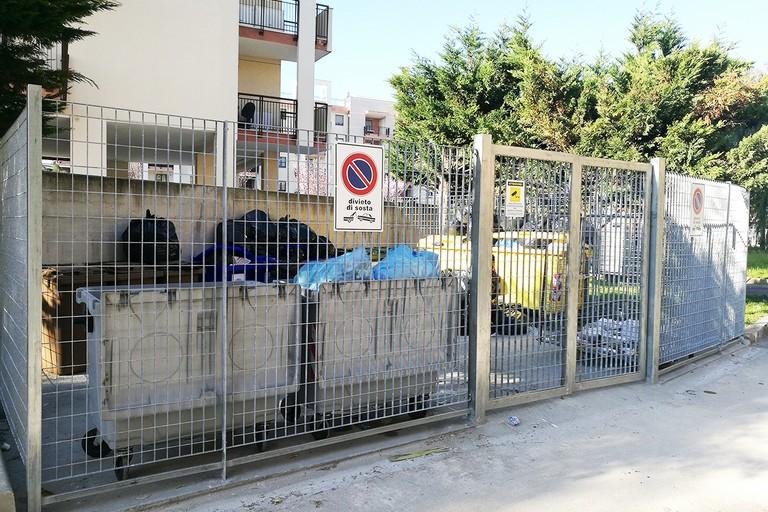 Area per i rifiuti dell'ospedale civile
