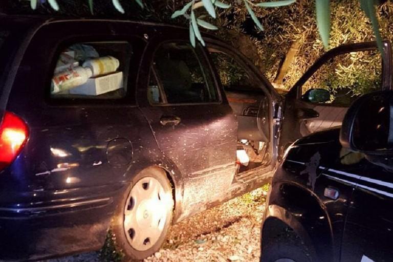 Auto rubata a Bisceglie recuperata dai Metronotte di Ruvo