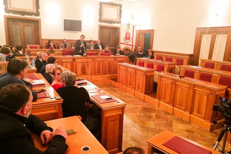 Consiglio comunale del 25 novembre