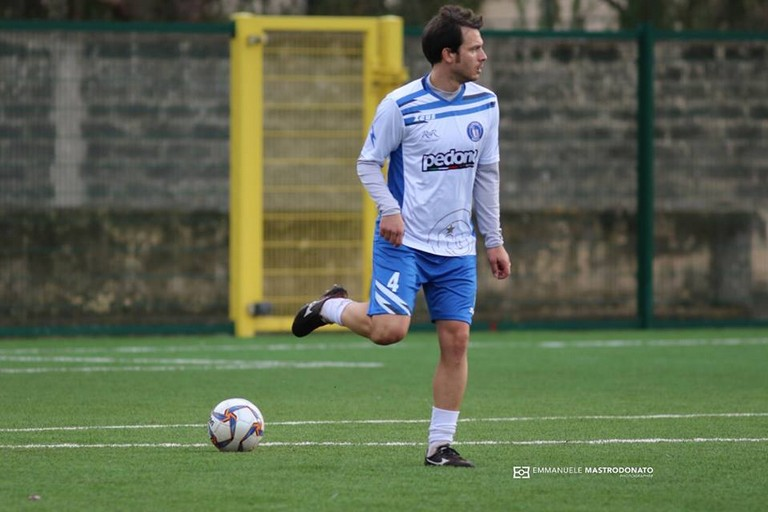 Renato Bartoli, difensore dell'Unione Calcio Bisceglie. <span>Foto Emmanuele Mastrodonato</span>