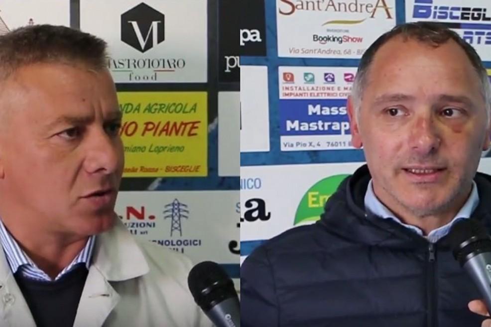 Emanuele Belviso e Vincenzo Milillo (Foto Vito Troilo)