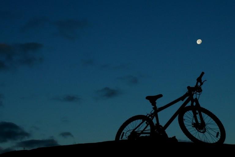 bici notte