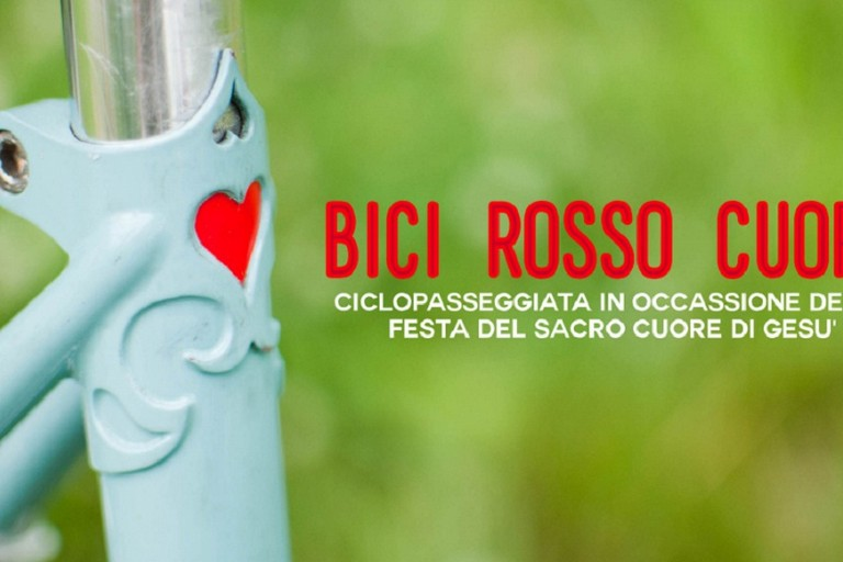Bici rosso cuore Biciliæ