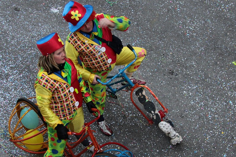 carnevale in bicicletta