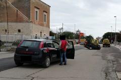 Incidente tra due auto in via Giovanni Bovio a Bisceglie