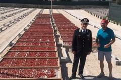 Il Comandante della Legione Puglia Manzo visita Mastrototaro Food
