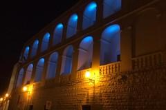 """""""Rotary day"""", Palazzo San Domenico si illumina di blu per l'occasione"""