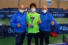 Tennis Tavolo Dolmen, vittoria per il giovane Corrado Palumbo a Casamassima