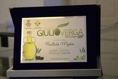 """L'olio del frantoio Simone vince a Cotronei il premio """"Giulio Verga"""""""
