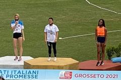 Splendida Antonella Todisco, campionessa italiana Juniores sui 100!