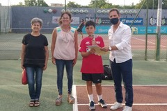 Michele Prete finalista del torneo Kinder Trophy Under 13