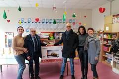 Un tv led nuovo al terzo circolo: il dono di Natale dell'associazione Apulia hifi show