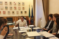 """Il ministro Francesco Boccia incontra i leader delle """"Sardine"""""""