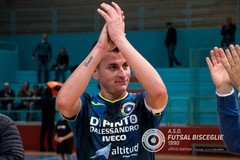 Futsal Bisceglie, si ammaina la bandiera Nico Pedone