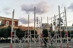 Un grande spettacolo per inaugurare l'installazione luminosa al Palazzuolo