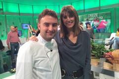 Lo chef Mario Musci in diretta su Rai 1, ospite di Buono a sapersi