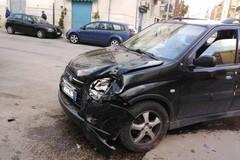 Incidente con feriti tra via Canonico Pasquale Uva e via Emilio Todisco Grande