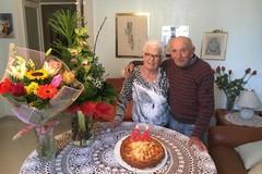 Coppia biscegliese festeggia 64 anni di matrimonio