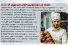 Il pasticcere biscegliese Mauro Abignente su Forbes
