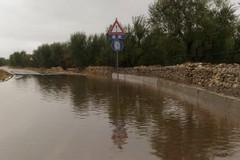 Allagamenti su via Ruvo a causa delle forti piogge