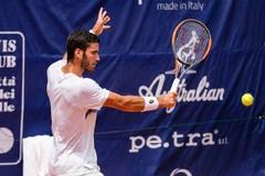 Andrea Pellegrino eliminato nel doppio a Roma