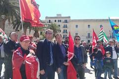 Primo maggio, Angarano alla manifestazione di Trani