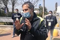Il sindaco Angarano in visita all'ospedale