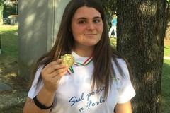 Anna Musci ritocca il primato regionale Allieve nel peso