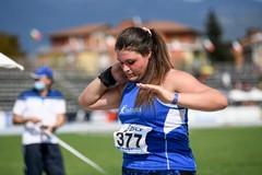 Nuovo record personale per Anna Musci nel peso
