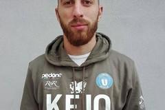 L'attaccante Antonio Compierchio per l'Unione Calcio Bisceglie