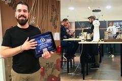 Antonio Parisi tra i migliori baristi d'Italia